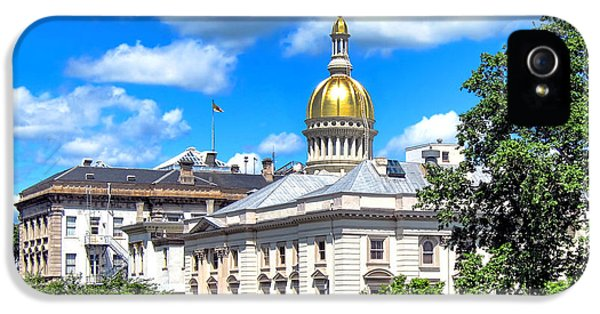 New Jersey Capitol IPhone 5 Case by Olivier Le Queinec