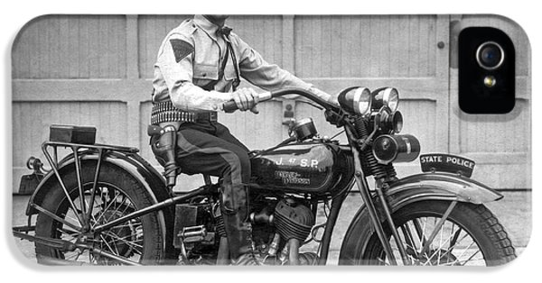 New Jersey Motorcycle Trooper IPhone 5 Case