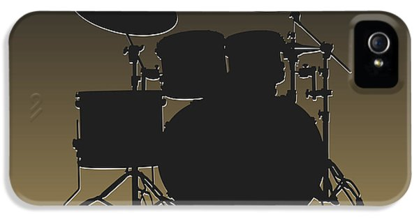 New Orleans Saints Drum Set IPhone 5 Case by Joe Hamilton
