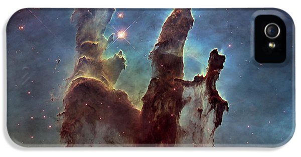 New Pillars Of Creation Hd Square IPhone 5 Case