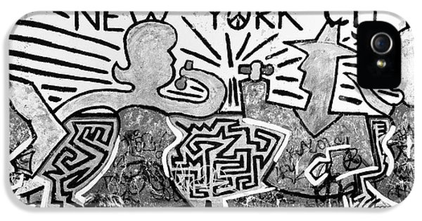 New York City Graffiti IPhone 5 Case by Dave Beckerman