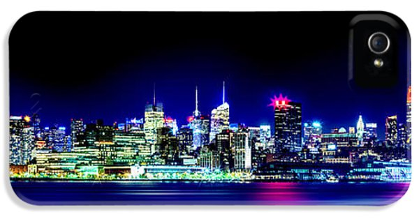 New York City Skyline IPhone 5 Case by Az Jackson