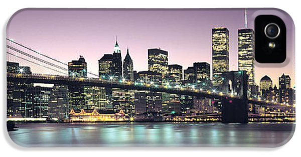 New York City Skyline IPhone 5 Case by Jon Neidert