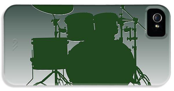 New York Jets Drum Set IPhone 5 Case by Joe Hamilton