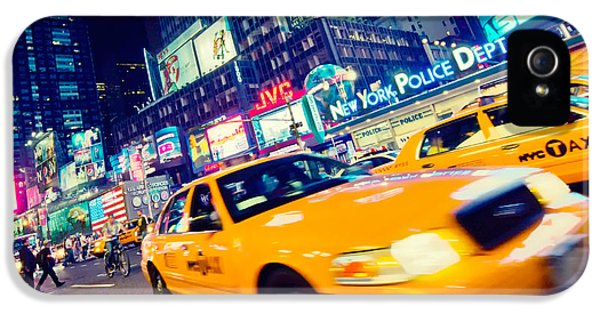 New York - Times Square IPhone 5 Case by Alexander Voss