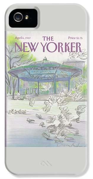 New Yorker April 6th, 1987 IPhone 5 Case