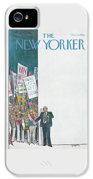 Constituent iPhone 5 Case - New Yorker August 11th, 1980 by Charles Saxon