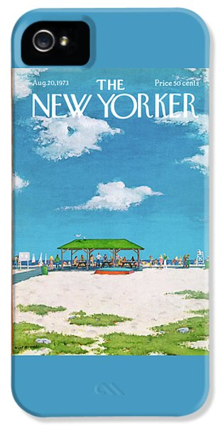 New Yorker August 20th, 1973 IPhone 5 Case