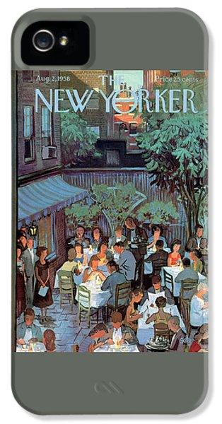 New Yorker August 2nd, 1958 IPhone 5 Case