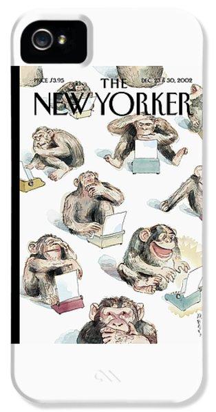 New Yorker December 23rd, 2002 IPhone 5 Case
