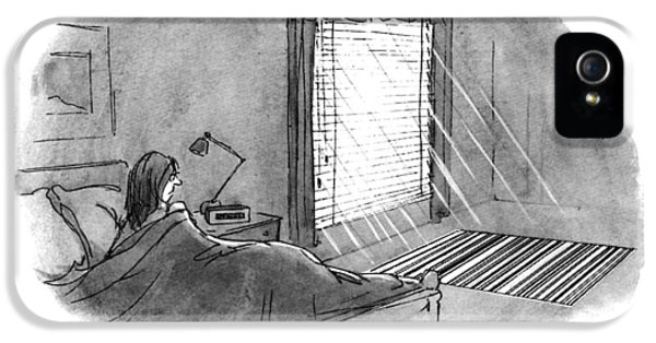 New Yorker January 10th, 1994 IPhone 5 Case by Mort Gerberg