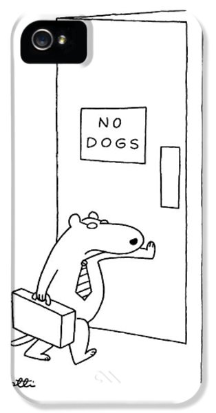 New Yorker January 18th, 1988 IPhone 5 Case by Charles Barsotti