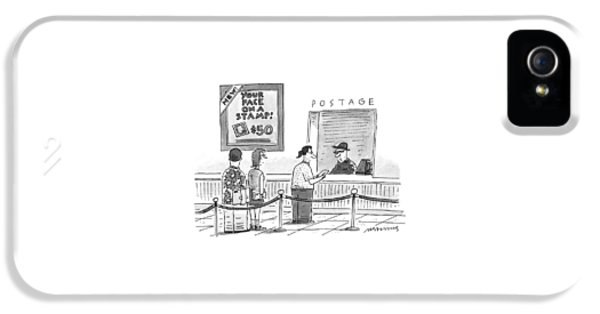 New Yorker July 17th, 1995 IPhone 5 Case by Mick Stevens