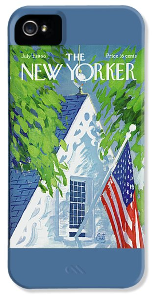 New Yorker July 2nd, 1966 IPhone 5 Case
