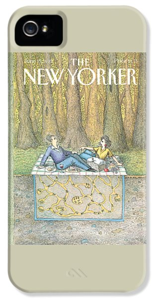 New Yorker June 15th, 1992 IPhone 5 Case