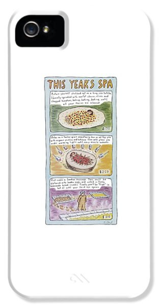 New Yorker June 2nd, 1997 IPhone 5 Case by Roz Chast