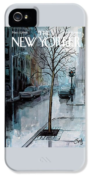 New Yorker March 12th, 1966 IPhone 5 Case