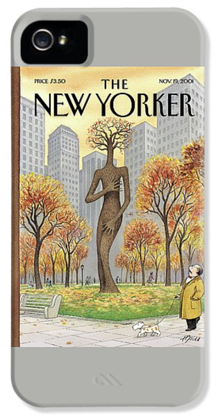 New Yorker November 19th, 2001 IPhone 5 Case