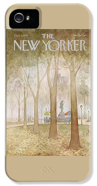 New Yorker October 3rd, 1977 IPhone 5 Case
