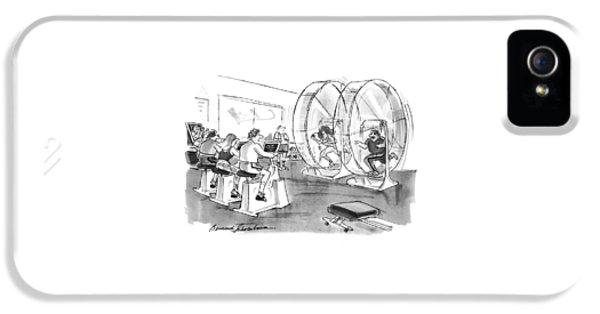 New Yorker September 12th, 1994 IPhone 5 Case by Bernard Schoenbaum