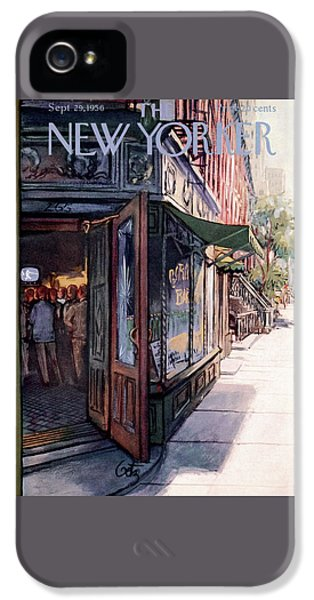 New Yorker September 29th, 1956 IPhone 5 Case