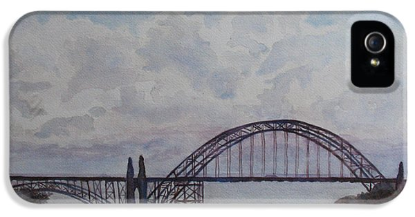 Newport Bay Bridge I IPhone 5 Case by Jenny Armitage