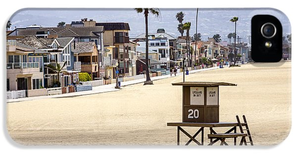 Newport Beach Waterfront Luxury Homes IPhone 5 Case by Paul Velgos