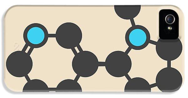 Nicotine Tobacco Stimulant Molecule IPhone 5 Case by Molekuul