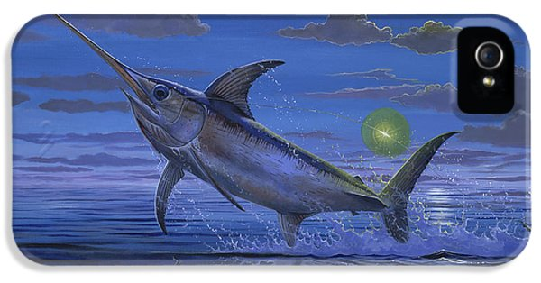Swordfish iPhone 5 Case - Night Bite Off0066 by Carey Chen