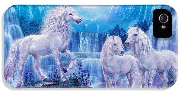 Night Horses IPhone 5 Case by Jan Patrik Krasny