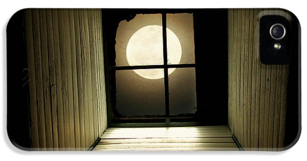 Moon iPhone 5 Case - Night Light by Amy Tyler
