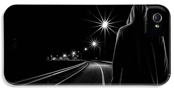 Night Road IPhone 5 Case