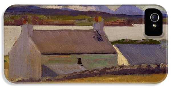 Nightfall  Iona IPhone 5 Case by Francis Campbell Boileau Cadell