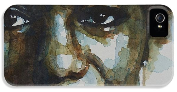Nina Simone IPhone 5 Case by Paul Lovering