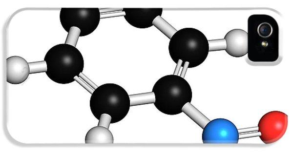 Toxicity iPhone 5 Case - Nitrobenzene Molecule by Molekuul/science Photo Library