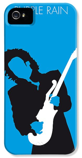 No009 My Prince Minimal Music Poster IPhone 5 Case by Chungkong Art