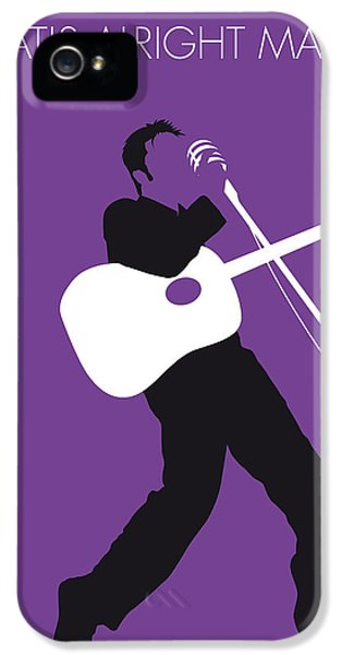 Elvis Presley iPhone 5 Case - No021 My Elvis Minimal Music Poster by Chungkong Art