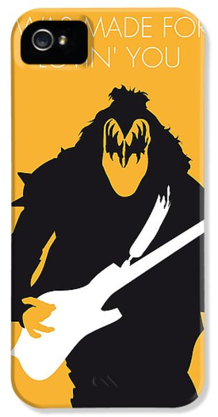No024 My Kiss Minimal Music Poster IPhone 5 Case