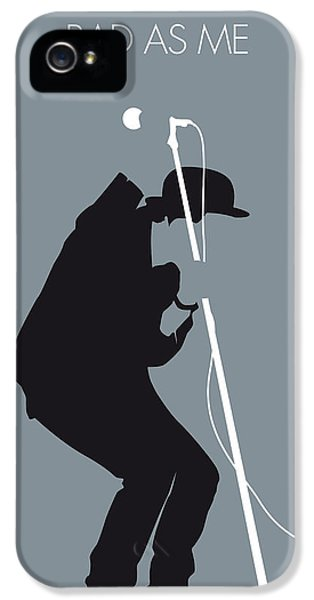 No037 My Tom Waits Minimal Music Poster IPhone 5 Case by Chungkong Art