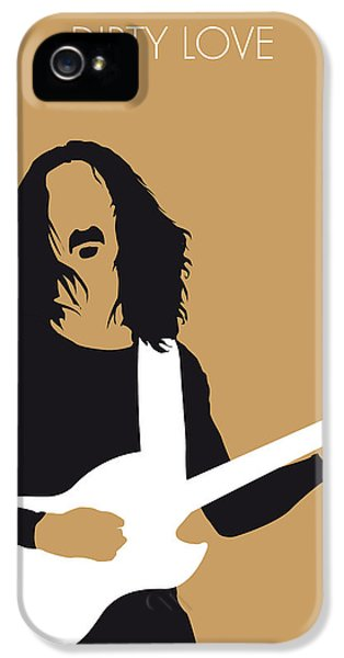 No040 My Frank Zappa Minimal Music Poster IPhone 5 Case by Chungkong Art