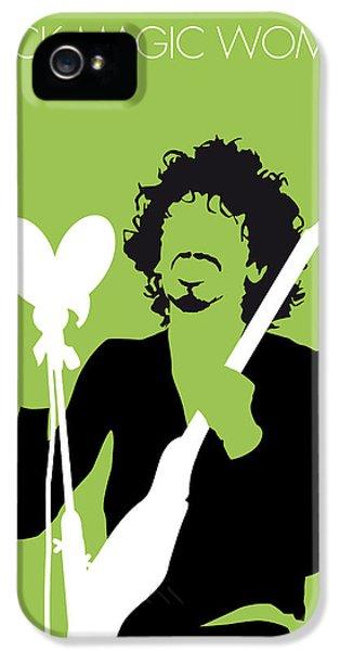 Magician iPhone 5 Case - No046 My Santana Minimal Music Poster by Chungkong Art
