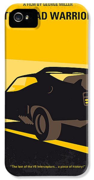 No051 My Mad Max 2 Road Warrior Minimal Movie Poster IPhone 5 Case