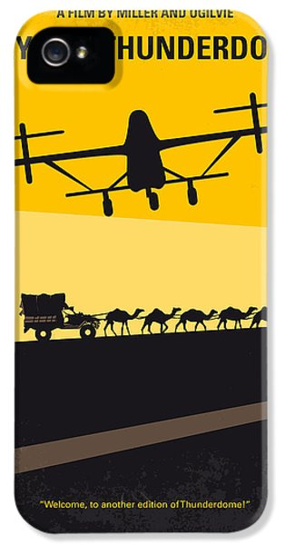 No051 My Mad Max 3 Beyond Thunderdome Minimal Movie Poster IPhone 5 Case