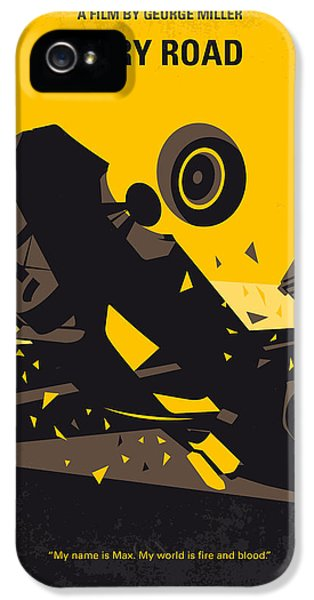 No051 My Mad Max 4 Fury Road Minimal Movie Poster IPhone 5 Case