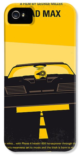 No051 My Mad Max Minimal Movie Poster IPhone 5 Case