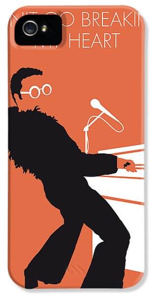 Elton John iPhone 5 Case - No053 My Elton John Minimal Music Poster by Chungkong Art