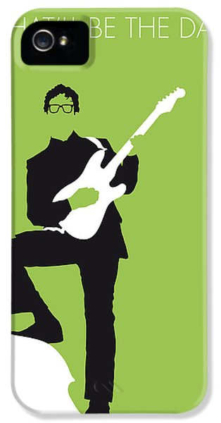 No056 My Buddy Holly Minimal Music Poster IPhone 5 / 5s Case by Chungkong Art