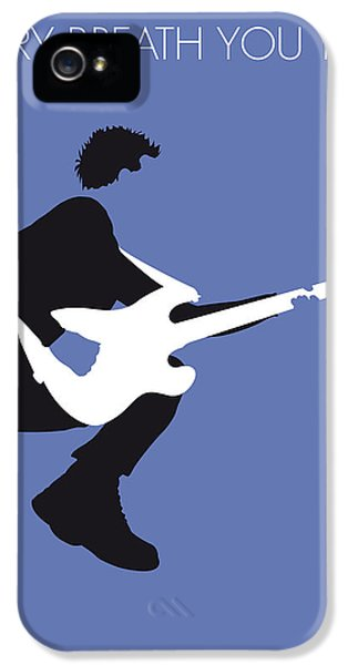 Guitar iPhone 5 Case - No058 My The Police Minimal Music Poster by Chungkong Art