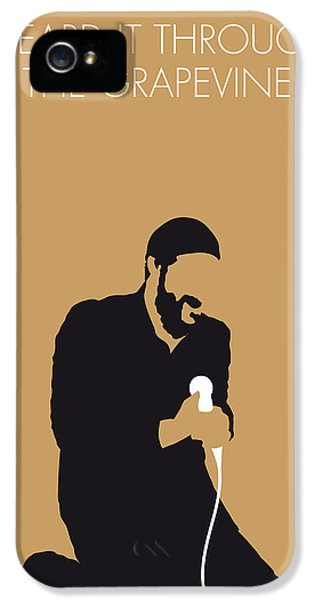 Knight iPhone 5 Case - No060 My Marvin Gaye Minimal Music Poster by Chungkong Art