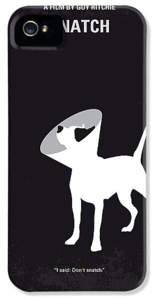 No079 My Snatch Minimal Movie Poster IPhone 5 Case